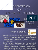 ppt on branding decision