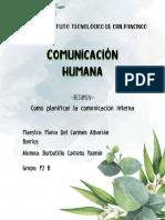 CÓMO PLANIFICAR LA COMUNICACIÓN INTERNA-RESUMEN