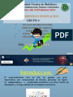 EMPRENDIMIENTO EN EL ECUADOR-SEPTIMO A GRUPO 1