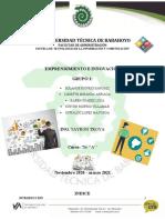 Emprendimiento en El Ecuador -Grupo 1(1)