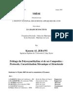 Frittage Du Polyoxyméthylène Et de Ses Composites _ Protocole ...