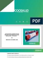 PRESENTACION ACTUALIZACION DEL REPORTE VIH 2020
