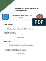 Seclén Machado Rossio, Pavimentos, s02