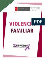 SESION EDUCATIVA VIOLENCIA FAMILIAR