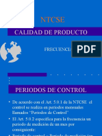 Curso NTCSE Fecuencia