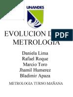 evolucion de la metrologia