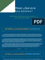 Resumen Rusen -Que Es La Cultura Historica
