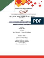 Aplicaciones de modelos didácticos a las modalidades de enseñanza