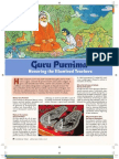 Guru Purnima Hindu Festival