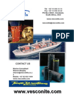 Vesconite Marine Booklet