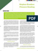 Krashen-pleasure reading