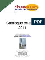 Catalogue eclarage 2011