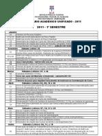 Calendario Academico 2011