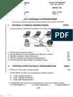 Promouvoircompetences Epreuve Theorique Informatique Bacc General 2019 Series a c d e
