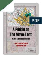Lent 2011 Devotional