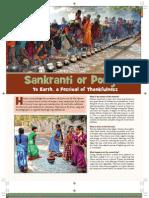 Sankranti or Pongal - Hindu Festival