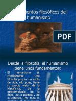 Fundamentos filosóficos del humanismo