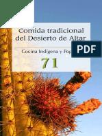 Cocina Indígena y Popular - 71 - Comida Tradicional Del Desierto de Altar