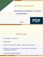 AMPHI 2 Chapitre2 2015 Cinématique Poutres Et Lois de Comportement17 Mars Sakai