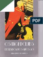 Barros - Os Nightclubs de Lisboa Nos Anos 20
