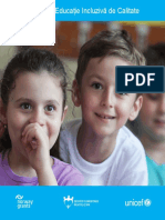 Broșură Pachetul Educație Incluzivă de Calitate