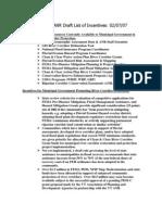 LaPlatte Corridor Plan 2007, Hinesburg Appendix C
