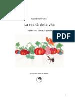 La realtà della vita, versione in pdf