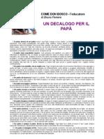 un_decalogo_per_il_pap