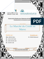 Pfe Marche Du Crédit Au Maroc