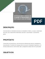 1 - Introdução a redes de computadores e histórico da internet_