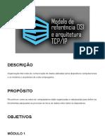2 - Modelo de referência OSI e arquitetura TCP_IP