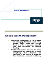 Wealth Management Business