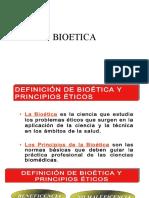 BIOETICA PRINCIPIOS