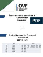 Ovf Inflación Mayo 2021