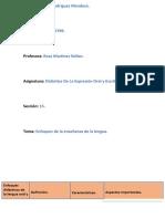 Enfoques Didácticos de La Lengua Oral y Escrita....