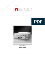 Martin ME 401 - Service Manual 6035458