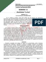 BOLETIN SEMANA N°12 Ciclo 2020-II