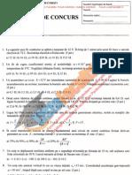 ListaFacultati.ro Subiecte Admitere Politehnica Bucuresti - Fizica 2010