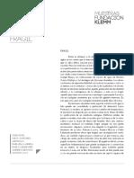 Catálogo exposición Frágil - Curaduría Julio Sánchez
