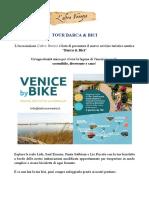 Tour barca e bici in laguna di Venezia