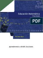 01_Presentación_-_División_Fracciones