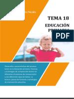 T18. Educación Primaria. Grupo Pedro Nicolás (2)