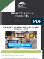 Importancia del profesor de filosofía