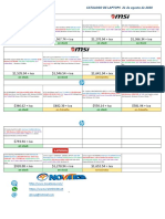 Catalogo de Notebooks 21-Agosto-2020