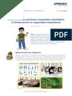 Exp3 Secundaria 1y2 Exploramos Act10 Practicas Corporales Saludables