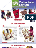 The Family Handyman Handy Hints 2009