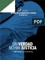 Tomo 1 - Violaciones de Derechos Humanos