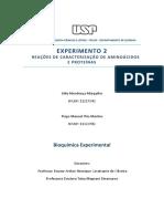 Relatório BQ. Exp. Grupo 21
