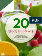 20 Sucos Saudáveis