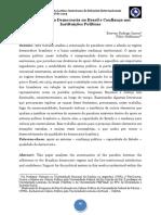 SANTOS e HOFFMANN_Qualidade Da Democracia No Brasil e Confiança Nas Instituições Políticas